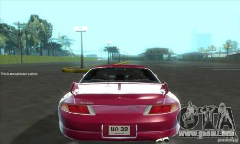 Mitsubishi FTO GP Version R 1998 para la visión correcta GTA San Andreas