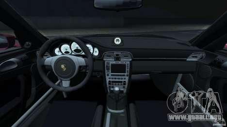 Porsche 997 GT2 Body Kit 2 para GTA 4 vista hacia atrás