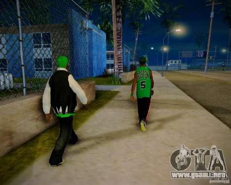 Skins pack gang Grove para GTA San Andreas sexta pantalla