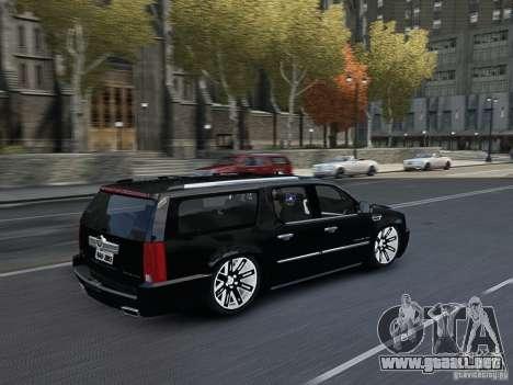 Cadillac Escalade ESV 2012 DUB para GTA 4 vista interior