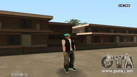 Construir las pieles Rifa para GTA San Andreas quinta pantalla