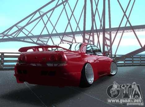 Nissan Skyline R33 para la visión correcta GTA San Andreas