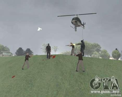 Zona de restricción de Vinewood para GTA San Andreas segunda pantalla