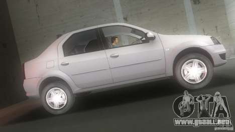 Dacia Logan para GTA Vice City left