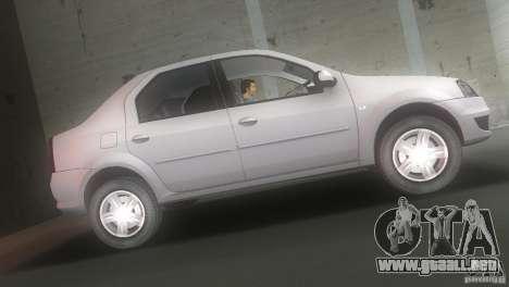 Dacia Logan para GTA Vice City left