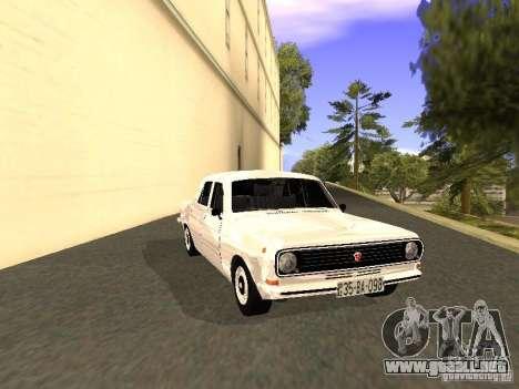 GAZ 24-10 para GTA San Andreas vista posterior izquierda
