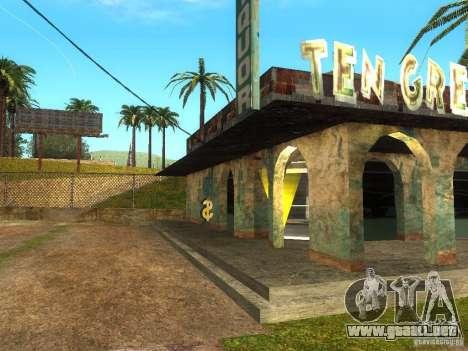 Negocio Cj v1.0 para GTA San Andreas tercera pantalla