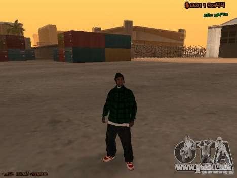 Grove Street Family para GTA San Andreas tercera pantalla