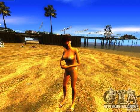 Salvación del hombre en la playa para GTA San Andreas tercera pantalla