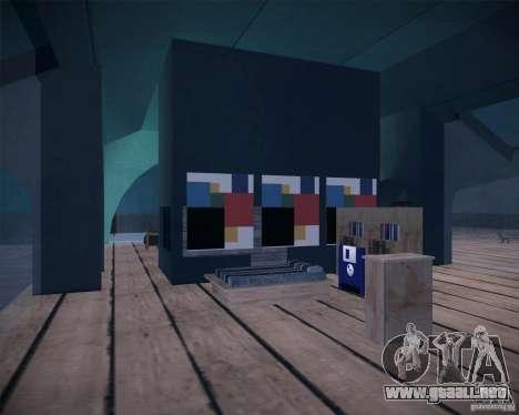 Beach House para GTA San Andreas quinta pantalla