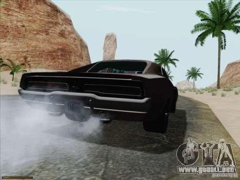 Dodge Charger 1969 para GTA San Andreas left