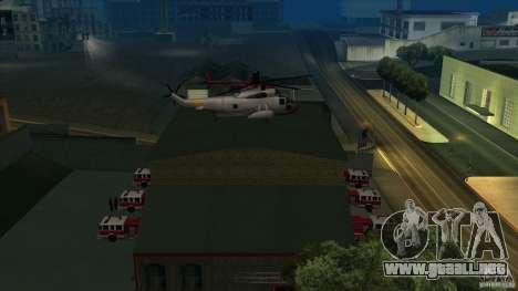 Estación de fuego de avivamiento en San Fierro v para GTA San Andreas tercera pantalla
