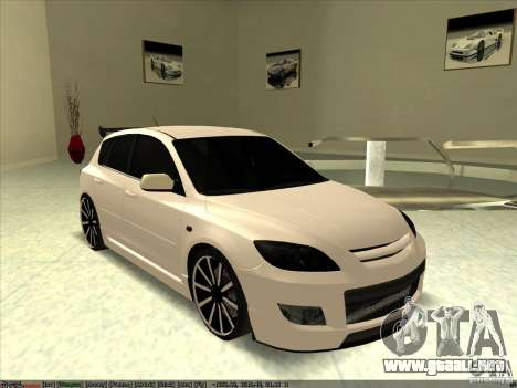 Mazda Speed 3 Stance v.2 para GTA San Andreas