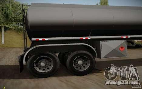 Caravana de cuero crudo de Mack Pinnacle Edition para la visión correcta GTA San Andreas