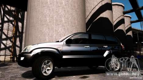 Toyota Land Cruiser Prado para GTA 4 Vista posterior izquierda