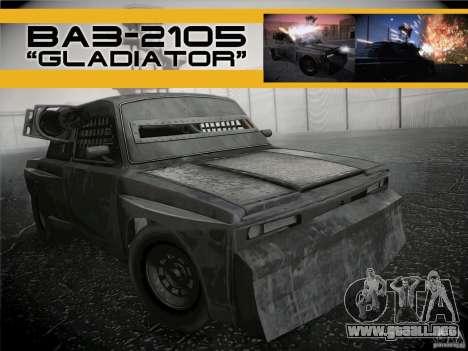 VAZ 2105 gladiador para GTA San Andreas