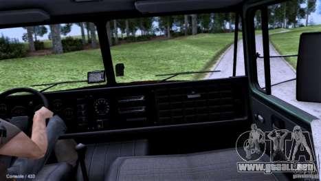 Escuela de manejo de camiones para la visión correcta GTA San Andreas