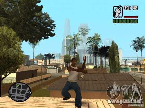 Lata de aerosol para GTA San Andreas tercera pantalla