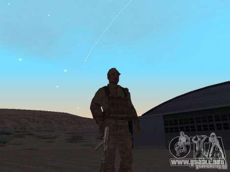 Piel de un soldado soviético para GTA San Andreas segunda pantalla