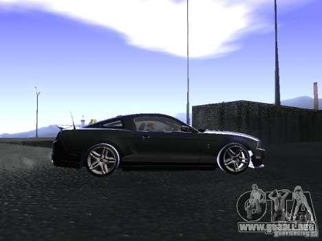 Ford Mustang Shelby GT500 para visión interna GTA San Andreas