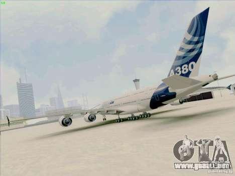 Airbus A380-800 para GTA San Andreas left