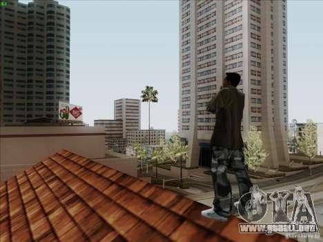 Gentleman Dance Animation para GTA San Andreas quinta pantalla