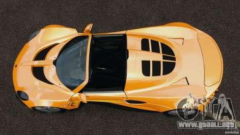 Hennessey Venom GT Spyder para GTA 4 visión correcta