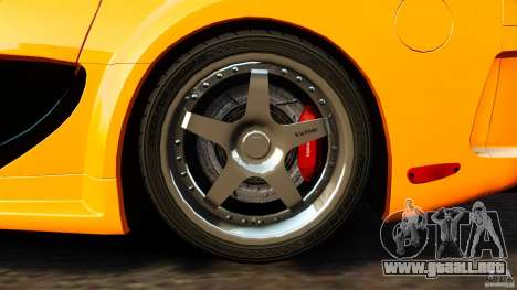 Mazda RX-7 Veilside Tokyo Drift para GTA 4 vista interior