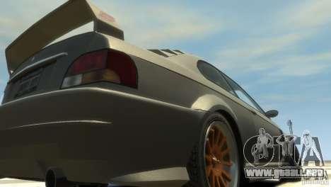 Sentinel Grand Sport para GTA 4 vista hacia atrás