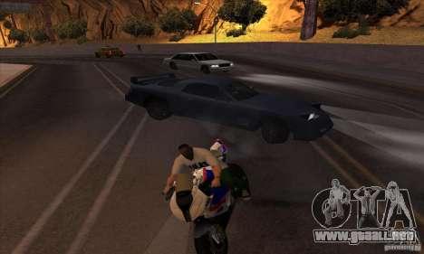 No wanted v1 para GTA San Andreas sucesivamente de pantalla