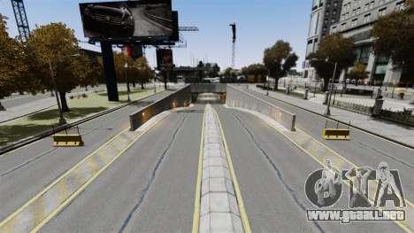 Carreras callejeras para GTA 4 adelante de pantalla