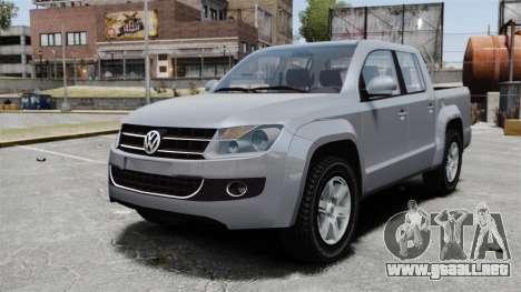 Volkswagen Amarok TDI para GTA 4