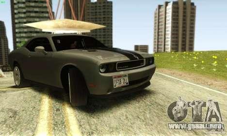 Dodge Challenger SRT-8 para la visión correcta GTA San Andreas