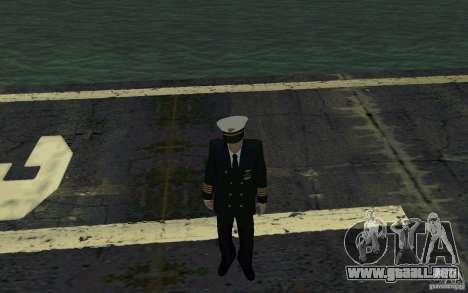Admiral HD para GTA San Andreas segunda pantalla