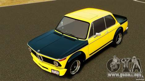 BMW 2002 Turbo 1973 para GTA 4 vista interior