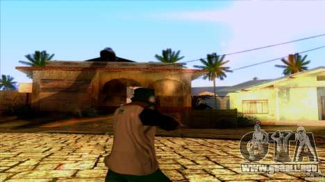 AK-47 from Far Cry 3 para GTA San Andreas tercera pantalla