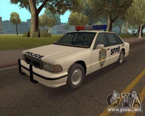 Updated SFPD para GTA San Andreas