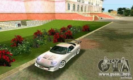 Mazda RX7 tuning para GTA Vice City vista lateral izquierdo