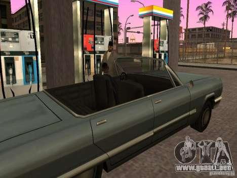 Gasolinera ocupado en Los Santos para GTA San Andreas sucesivamente de pantalla