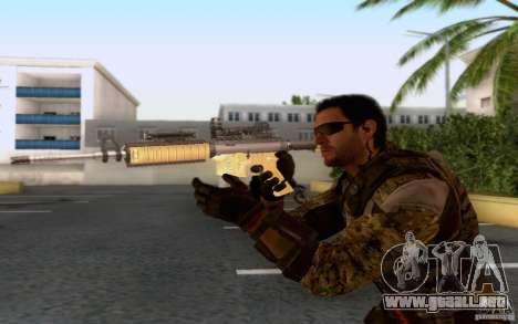 David Mason para GTA San Andreas quinta pantalla