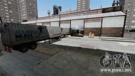 La pista en el estilo de Gymkhana para GTA 4 tercera pantalla