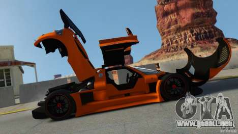 Gumpert Apollo Sport 2011 v2.0 para GTA 4 left