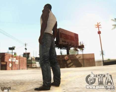 New CJ para GTA San Andreas tercera pantalla
