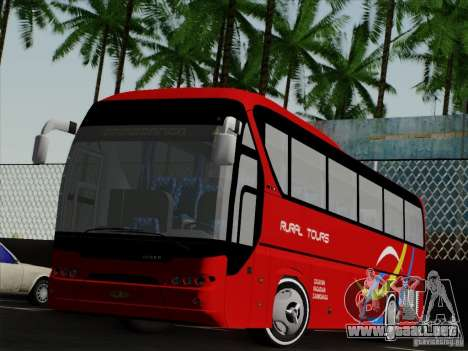 Neoplan Tourliner. Rural Tours 1502 para GTA San Andreas left