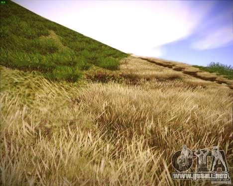 New grass para GTA San Andreas segunda pantalla