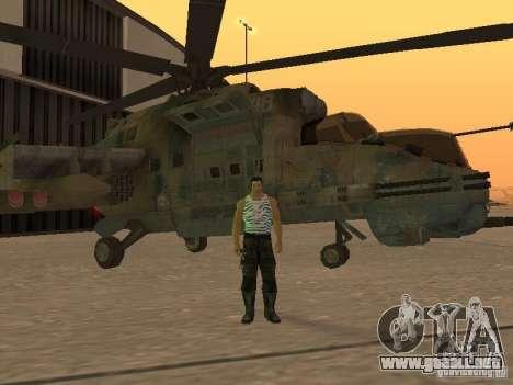 Mi-24P para GTA San Andreas