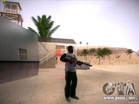 M4 Close Quarters Combat para GTA San Andreas sucesivamente de pantalla