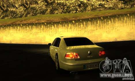Volkswagen Phaeton 2005 para GTA San Andreas left