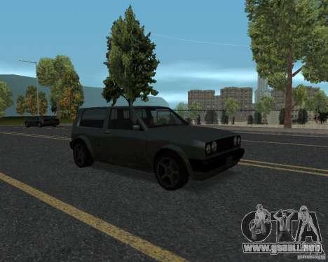 Nuevas texturas de carretera para GTA UNITED para GTA San Andreas quinta pantalla