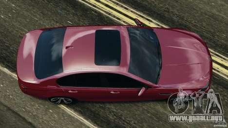 BMW M5 2012 para GTA 4 visión correcta